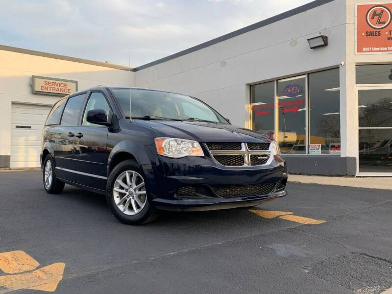 2015 Dodge Grand Caravan for sale at HIGHLINE AUTO LLC in Kenosha WI