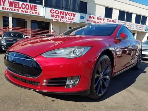 2013 Tesla Model S for sale at Convoy Motors LLC in National City CA