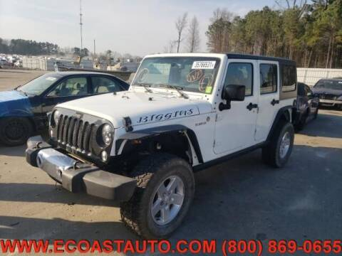 2015 Jeep Wrangler Unlimited for sale at East Coast Auto Source Inc. in Bedford VA