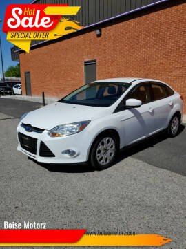 2012 Ford Focus for sale at Boise Motorz in Boise ID