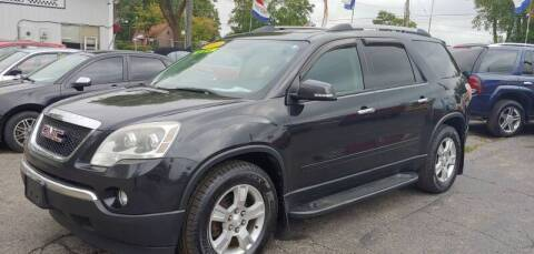 2011 GMC Acadia for sale at Superior Motors in Mount Morris MI