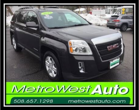 2015 GMC Terrain for sale at Metro West Auto in Bellingham MA