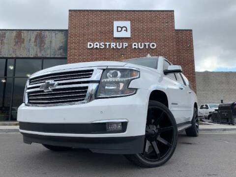 2015 Chevrolet Suburban for sale at Dastrup Auto in Lindon UT