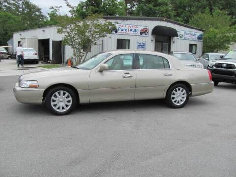 2007 Lincoln Town Car for sale at Pure 1 Auto in New Bern NC