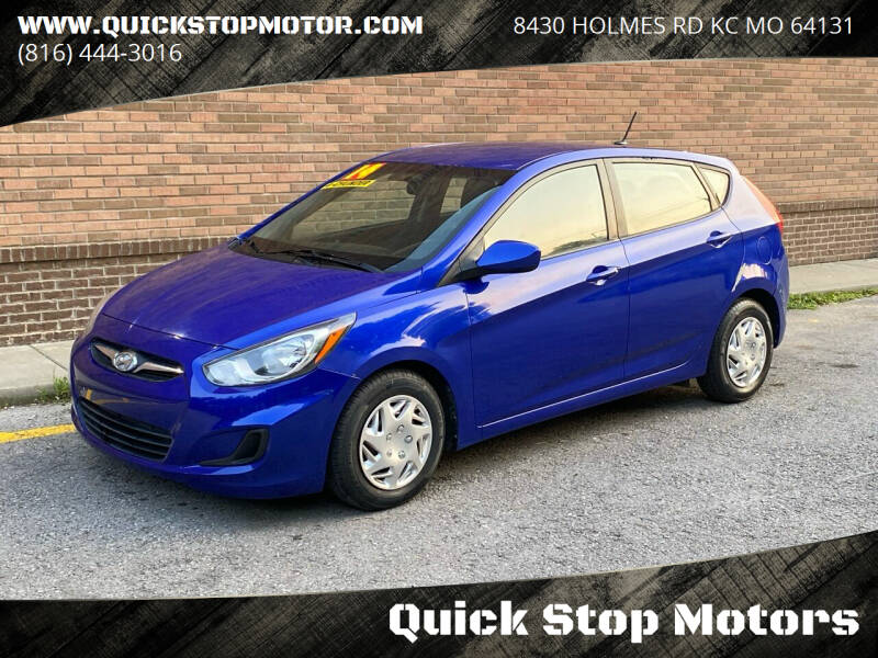 2014 Hyundai Accent for sale at Quick Stop Motors in Kansas City MO