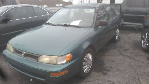 1995 Toyota Corolla for sale at IMPORT MOTORSPORTS in Hickory NC