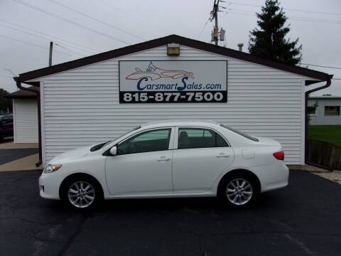 2009 Toyota Corolla for sale at CARSMART SALES INC in Loves Park IL