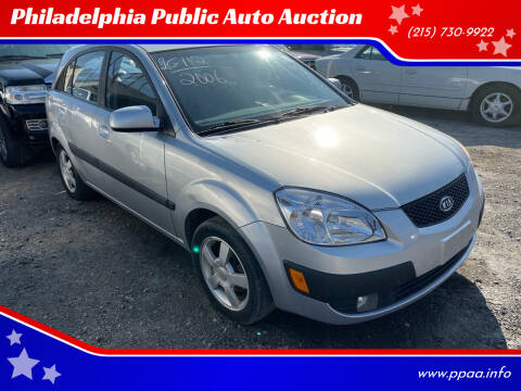2006 Kia Rio5 for sale at Philadelphia Public Auto Auction in Philadelphia PA