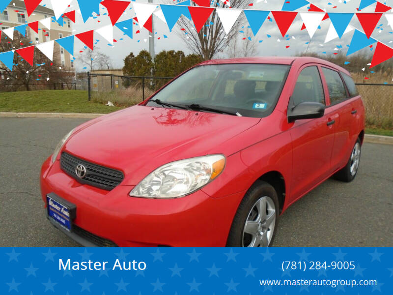 2008 Toyota Matrix for sale at Master Auto in Revere MA
