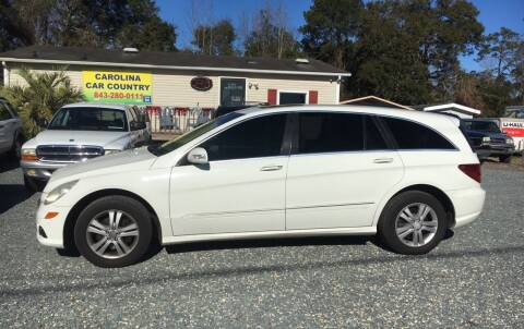 2008 Mercedes-Benz R-Class for sale at Carolina Car Country in Little River SC