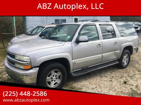 2004 Chevrolet Suburban for sale at ABZ Autoplex, LLC in Baton Rouge LA