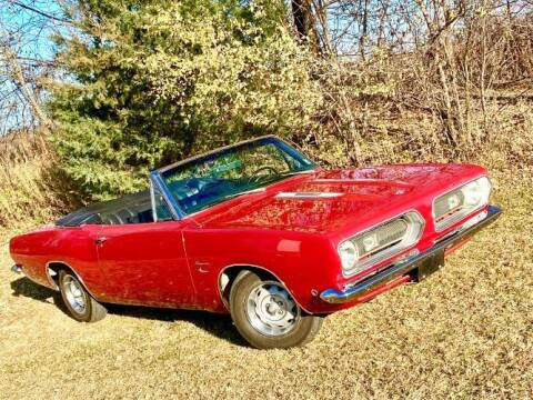 1968 Plymouth Barracuda for sale at Classic Car Deals in Cadillac MI