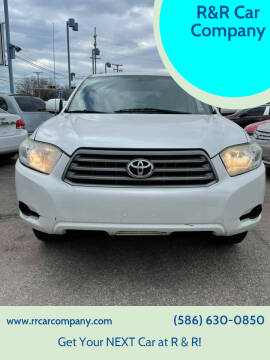 2010 Toyota Highlander for sale at R&R Car Company in Mount Clemens MI