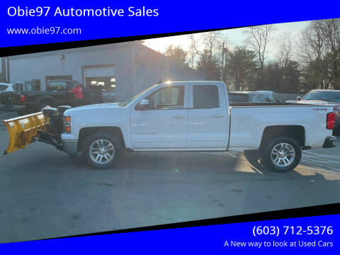2015 Chevrolet Silverado 1500 for sale at Obie97 Automotive Sales in Londonderry NH