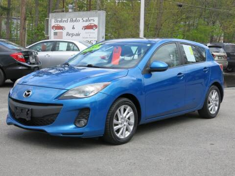 2012 Mazda MAZDA3 for sale at United Auto Service in Leominster MA