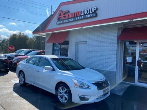 2013 Nissan Altima for sale at AG AUTOGROUP in Vineland NJ