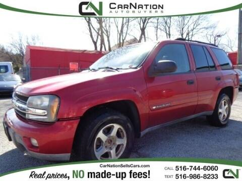 2003 Chevrolet TrailBlazer for sale at CarNation AUTOBUYERS Inc. in Rockville Centre NY