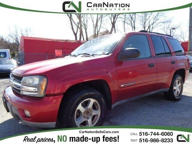 2003 Chevrolet TrailBlazer for sale at CarNation AUTOBUYERS, Inc. in Rockville Centre NY