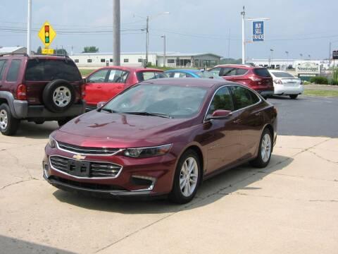 2016 Chevrolet Malibu for sale at Rochelle Motor Sales INC in Rochelle IL