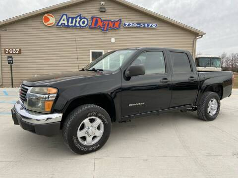 2005 GMC Canyon for sale at The Auto Depot in Mount Morris MI