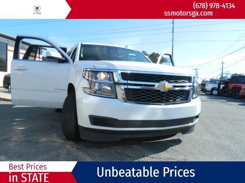 2015 Chevrolet Tahoe for sale at S & S Motors in Marietta GA