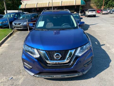 2017 Nissan Rogue for sale at J Franklin Auto Sales in Macon GA