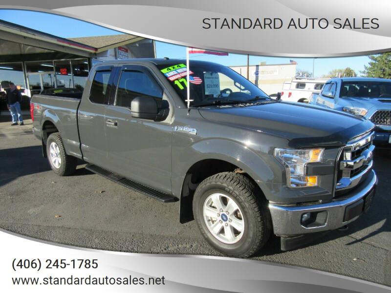 2017 Ford F-150 for sale at Standard Auto Sales in Billings MT