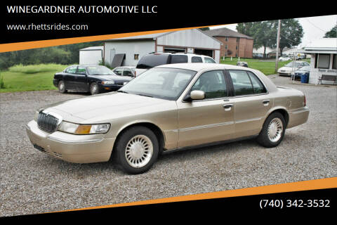 2000 Mercury Grand Marquis for sale at WINEGARDNER AUTOMOTIVE LLC in New Lexington OH