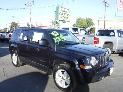 2016 Jeep Patriot for sale at HILMAR AUTO DEPOT INC. in Hilmar CA