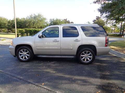 2009 GMC Yukon for sale at BALKCUM AUTO INC in Wilmington NC