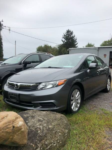 2012 Honda Civic for sale at Car Man Auto in Old Forge PA