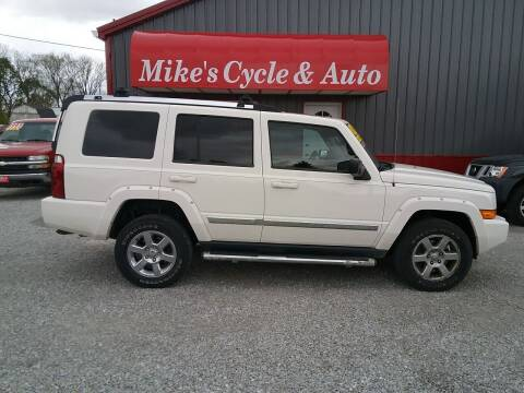 2008 Jeep Commander for sale at MIKE'S CYCLE & AUTO in Connersville IN