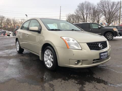 2008 Nissan Sentra for sale at Certified Auto Exchange in Keyport NJ