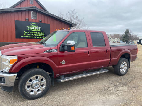 2014 Ford F-350 Super Duty for sale at HALVORSON AUTO in Cooperstown ND