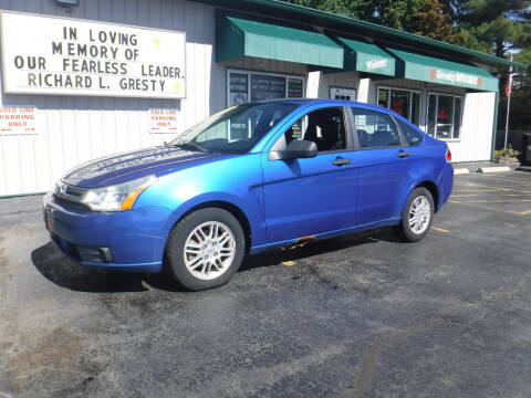 2010 Ford Focus for sale at GRESTY AUTO SALES in Loves Park IL