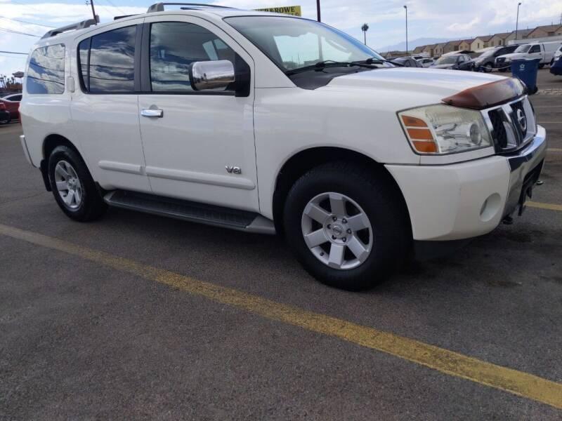 2005 Nissan Armada for sale at Car Spot in Las Vegas NV