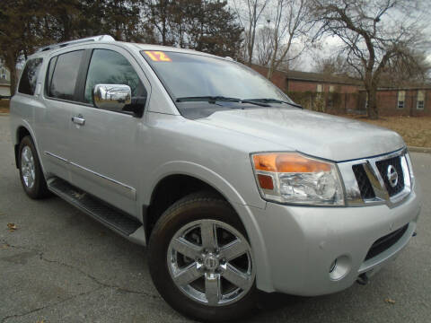 2012 Nissan Armada for sale at Sunshine Auto Sales in Kansas City MO