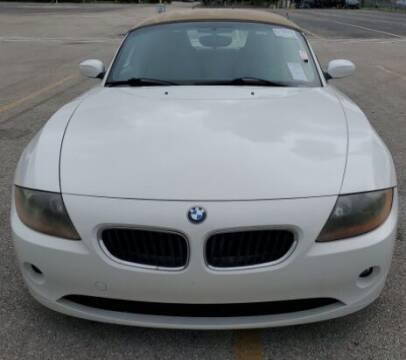 2003 BMW Z4 for sale at Navarro Auto Motors in Hialeah FL