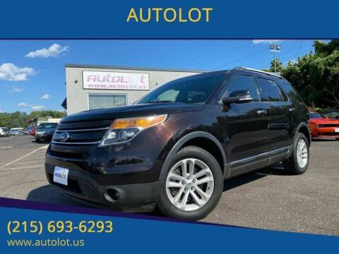 2013 Ford Explorer for sale at AUTOLOT in Bristol PA