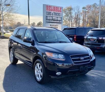 2007 Hyundai Santa Fe for sale at Reliable Cars & Trucks LLC in Raleigh NC
