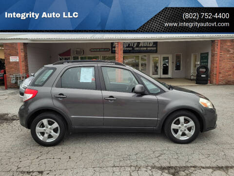 2011 Suzuki SX4 Crossover for sale at Integrity Auto LLC - Integrity Auto 2.0 in St. Albans VT