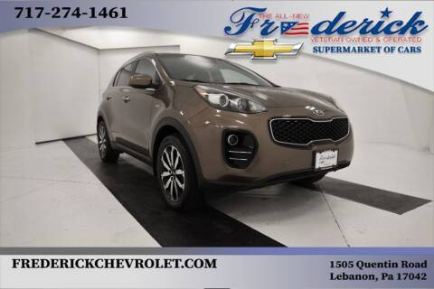 2017 Kia Sportage for sale at Lancaster Pre-Owned in Lancaster PA