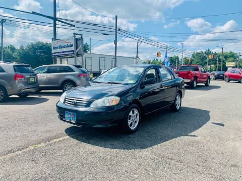 2003 Toyota Corolla for sale at New Wave Auto of Vineland in Vineland NJ