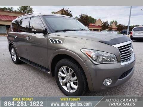 2013 Infiniti QX56 for sale at Auto Q Car and Truck Sales in Mauldin SC