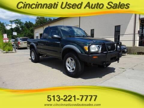 2001 Toyota Tacoma for sale at Cincinnati Used Auto Sales in Cincinnati OH