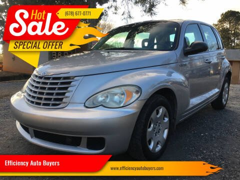 2006 Chrysler PT Cruiser for sale at Efficiency Auto Buyers in Milton GA