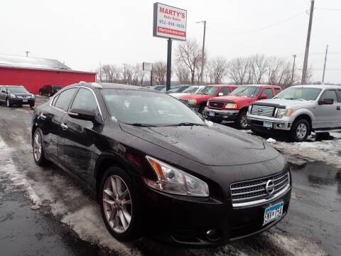 2010 Nissan Maxima for sale at Marty's Auto Sales in Savage MN