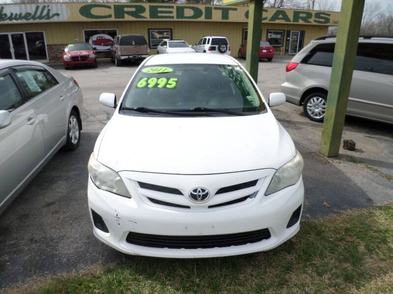 2011 Toyota Corolla for sale at Credit Cars of NWA in Bentonville AR