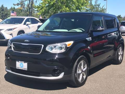 2017 Kia Soul EV for sale at GO AUTO BROKERS in Bellevue WA