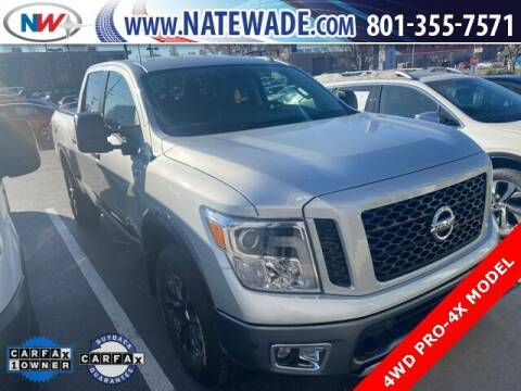 2018 Nissan Titan for sale at NATE WADE SUBARU in Salt Lake City UT